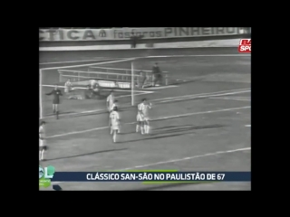 São Paulo 2 x 2 Santos (Campeonato Paulista 1967).mp4