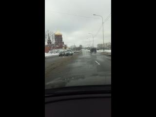 Открытие фонтанов на набережной реки Екатерингофки