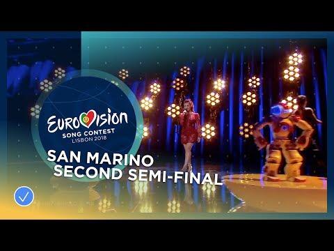 Jessika feat Jenifer Brening Who We Are San Marino LIVE Second Semi Final Eurovision 2018