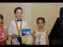 Выступление лауреатов конкурса Юсуповой Эльвины и Елисея Савельева