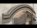 *NICE CURVE NEW TOOL* Amazing Construction skills - Sand and cement Rendering- construction
