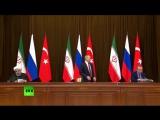 Путин уронил стул Эрдогана, ибо нехер так себя вести))))