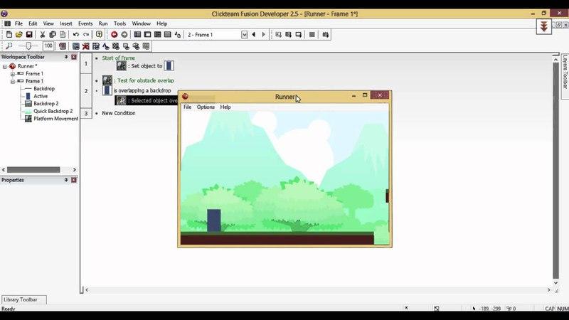 Infinite Runner Básico com Clickteam Fusion 2.5