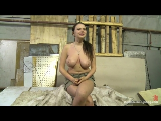 Big Titted 18 Year Old Russian Slut gets Gangbanged for the first time Gang Bang, BDSM, Domination, Fetish, Hardcore, All sex