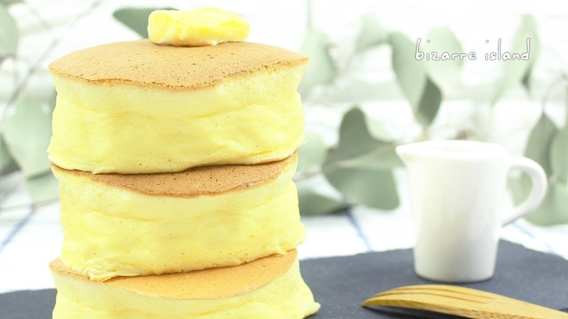 Super Fluffy Japanese Jiggly Pancakes AKA Soufflé Pancakes Recipe | d for delicious