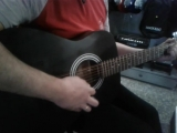 Электро-акустическая гитара Cort AF510-12E BKS