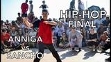 Электронный берег 2018 - Dance Battle by FDC - Hip-hop final - Anniga vs Sancho (win)