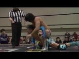 Konosuke Takeshita VS Makoto Oishi