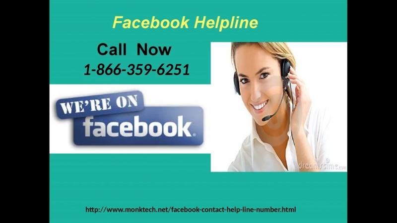 Get Fb Assistance By Dialling Facebook Helpline Number 1-866-359-6251