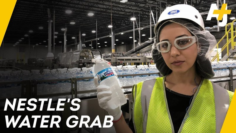 How Nestle Makes Billions Bottling Free Water | Direct From With Dena Takruri - AJ