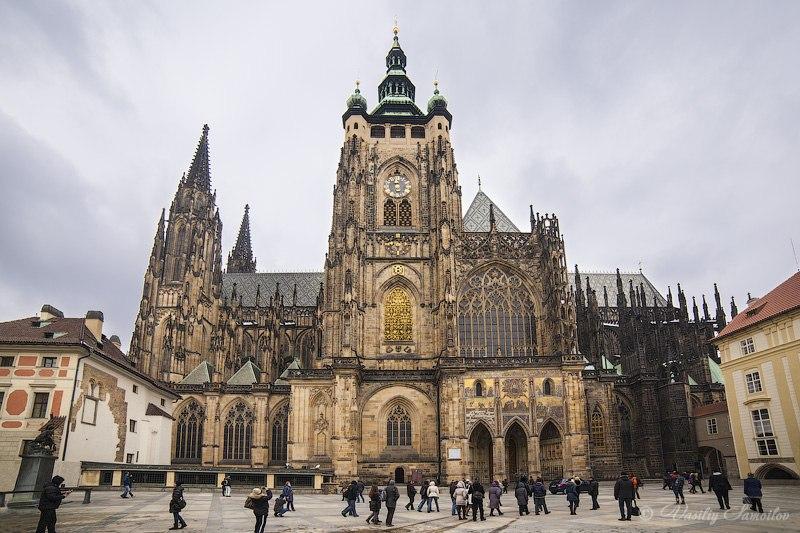 3IvJLmOHDzY Собор Святого Вита в Праге.