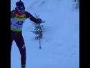 Валерия Васнецова в индивидуальной гонке на этапе Кубка IBU в Обертиллиахе 14 12 2017 г