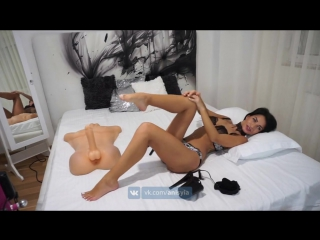 Anisyia jasmin sucking her own toes and huge cock footjob 4 k-uhd(порно сиськи вебка голая секси девушкаgerl srx)