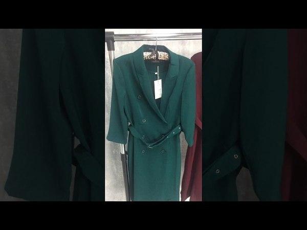 Платье халат на пуговках