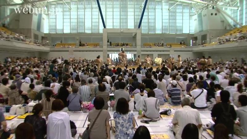 大相撲魚津場所(8月2日)