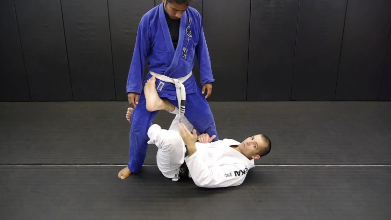 15. Modified X-Guard Tripod Sweep