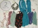 Headscarfs new summer mix **2 сток одежда оптом