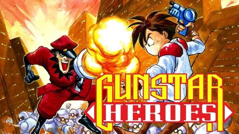 Gunstar Heroes. Sega. SMD