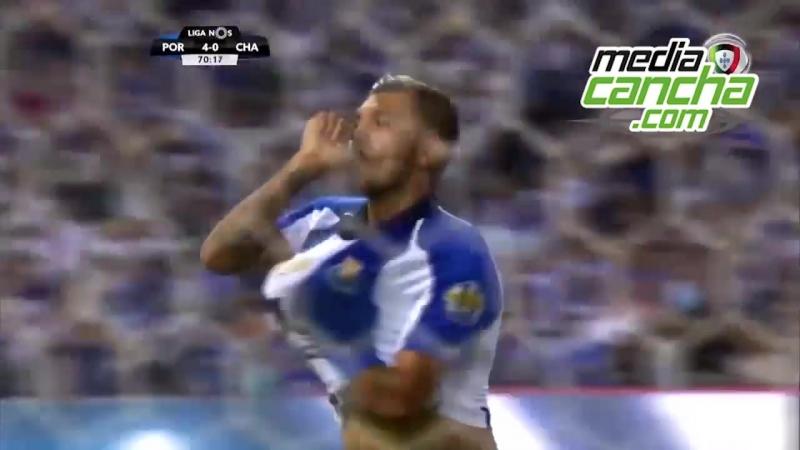 Porto golea Tecatito Corona anotó