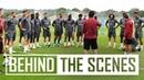 Pre season exclusive Unai Emery takes Arsenal stars through drills