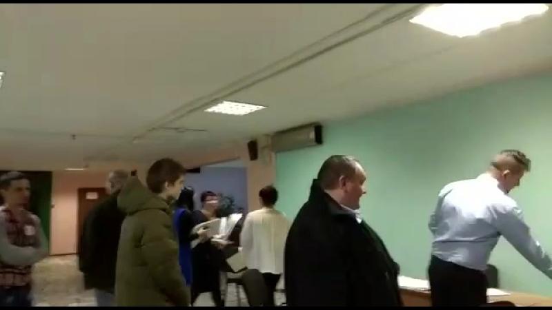 Члену ТИК отказали в пересчёте голосов на участке (Москва, УИК 667)