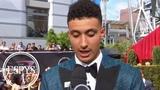 Kyle Kuzma says young Lakers will energize LeBron James 2018 ESPYS Red Carpet ESPN