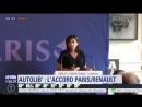 Accord entre Renault et Paris