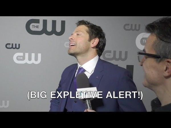 Supernatural 13x23 Misha Collins Interview
