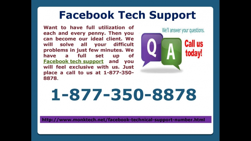 Chop off your impediments with Facebook tech Support 1-877-350-8878
