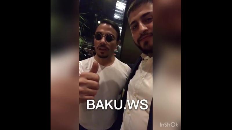 Nüsret Azərbaycanlılara salam göndərib