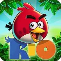 Angry Birds Rio [Мод: много усилений]