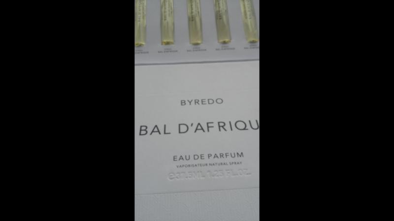 Набор Byredo Bal d'Afrique