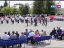 На Красной площади Ельца прошли показательные выступления военно-патриотических молодёжных организаций