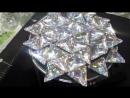 Треугольники пришивные акриловые crystal AB