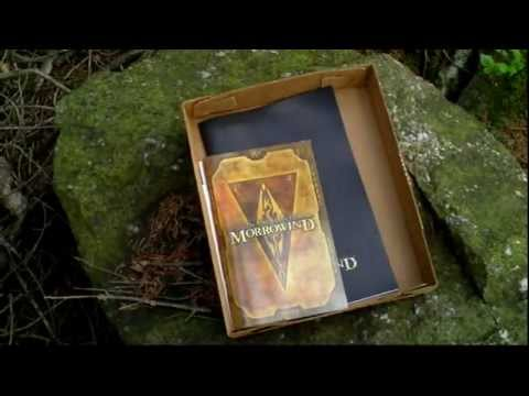 The Elder Scrolls III Morrowind Collector's Edition Unboxing (PC) ENGLISH