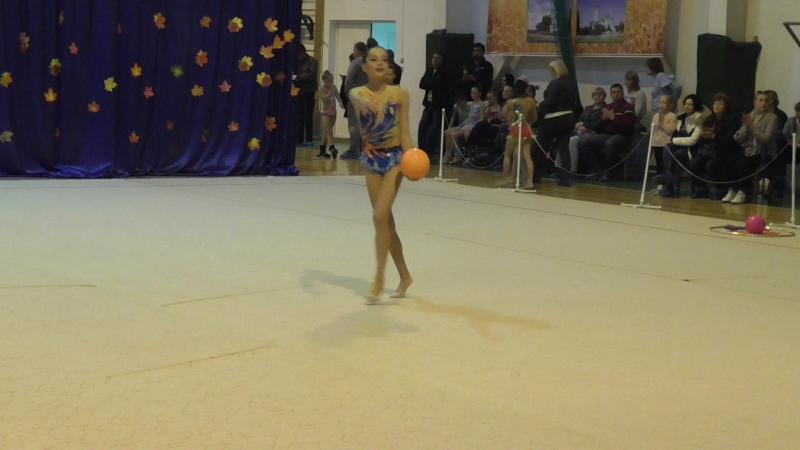 Давыдова Нелли Курганинск мяч