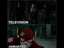 Television animation the flash dctv star