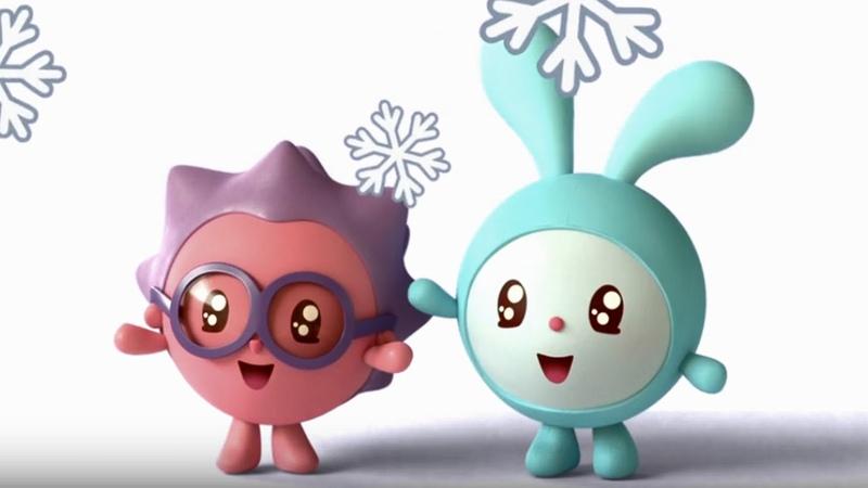 Малышарики - Ёлка - серия 9 - обучающие мультфильмы для малышей 0-4