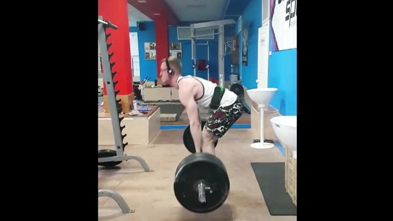 Становая тяга 200 кг 5 04 2018