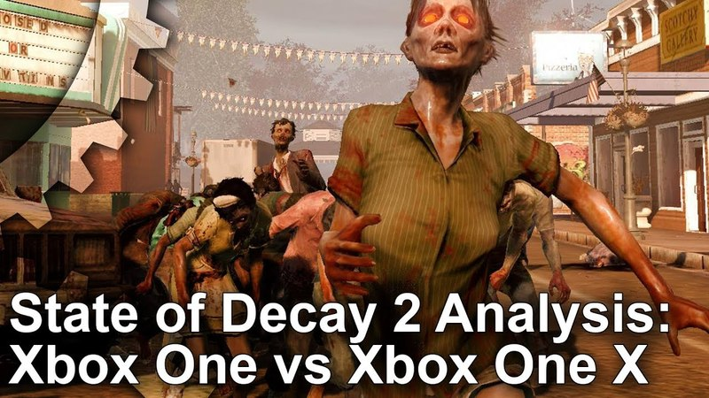 [4K] State of Decay 2: Better Visuals On Xbox One X - But Xbox One S Runs Faster