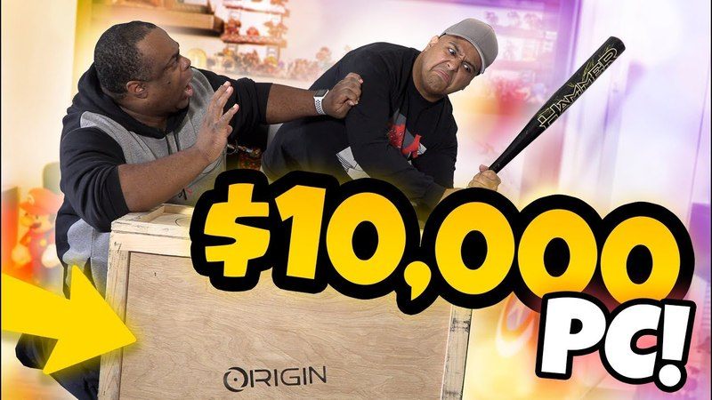 UNBOXING a $10,000 GAMING PC w/ DASHIE!
