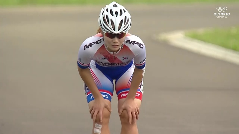 The World Games 2017 Wroclaw Olympic Channel speed skeating road 200m woman time trial
