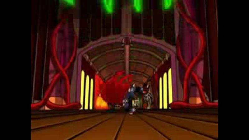 Tengu Shredder vs Turtles,Karai