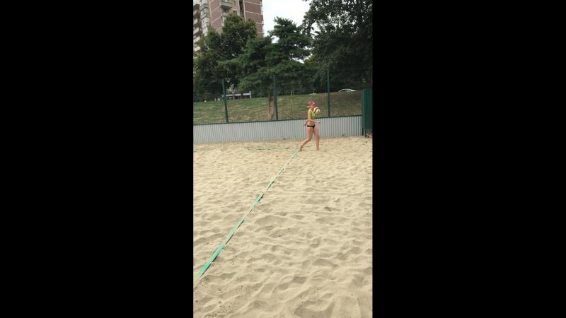 Пляжный волейбол.Краснодар.Рождественский парк. — Live