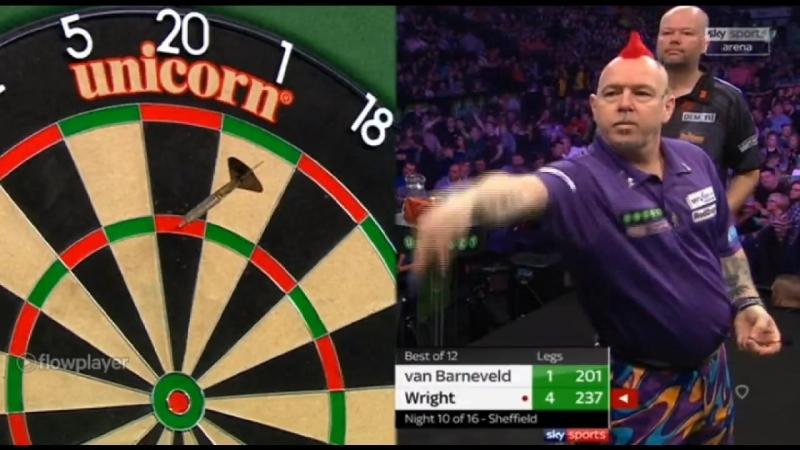 2018 Premier League of Darts Week 10 van Barneveld vs Wright