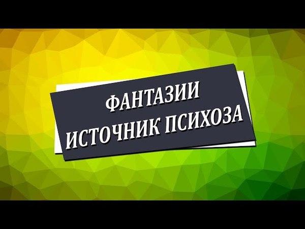 Фантазии источник психоза [Николай Пейчев, Академия Целителей]