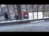 Съёмки сцена Харви и Сабрины от 03.04.2018