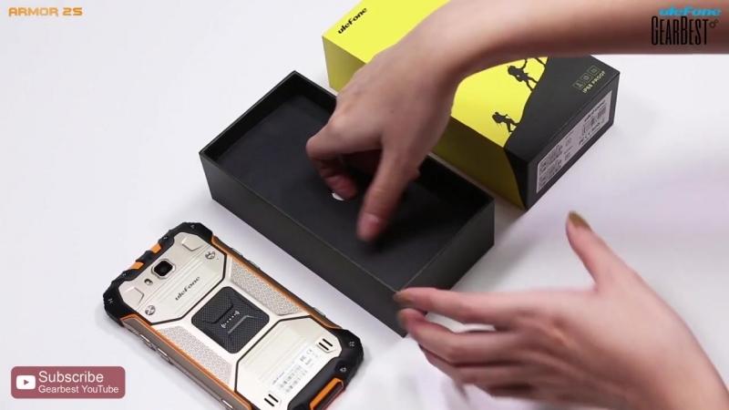 OUKITEL K10 4G Phablet Unboxing