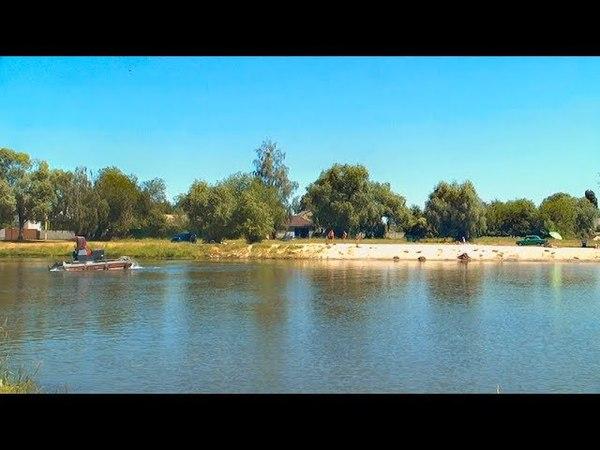 На Кяжицькому озері у Борисполі протягом двох днів чистили воду