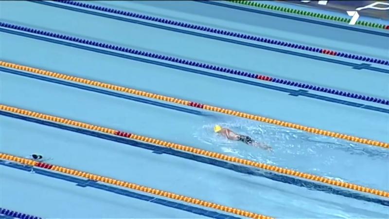Australian swimmer- 99-year-old breaks world record